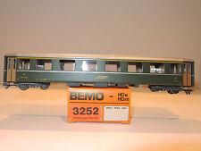 BEMO 3252 Personenwagen der RhB, 1.Klasse, A 1235, grün,  OVP