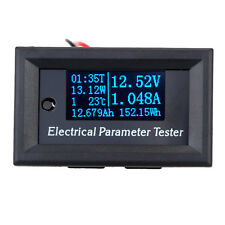 Electrical Parameter Meter 7 in 1 OLED Power Voltage Current Time Energy Tester