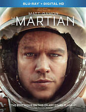 The Martian (Blu-ray Disc, 2016, Includes Digital Copy) NEW