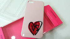 Authentic Victoria's Secret IPHONE 5 I Phone hardshell case Pink Heart Logo -NEW