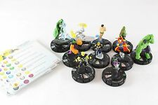 Heroclix Marvel Galactic Guardians Complete Gravity Feed Figure Set 201 - 210