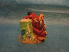 The Disney Store Lil' Classics Timon and Pumba Figurine Pig Out On Bug Buffet