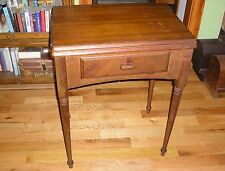 Singer Sewing Machine Cabinet - Had a Model 401 In It - Will Fit Many Others