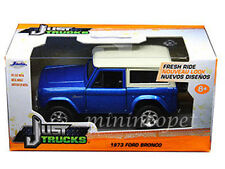JADA JUST TRUCKS 97314 1973 73 FORD BRONCO 1/32 DIECAST MODEL CAR BLUE