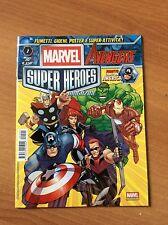 MARVEL THE AVENGERS SUPER HEROES MAGAZINE nr 1