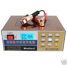 Batteriepulser,12V, 24V, 100A Batterie Aktivator, Desulfator- Refresher
