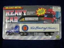Die Cast Metal Heavy Cab Free-Wheeling Container Truck Dave and Buster's #9148