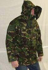British Army Combat Smock / Jacket Wired Hood DP Woodland Camo 180/104 - NEW