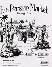 Albert Ketelbey In A Persian Market Piano Duets Learn to Play Music Book