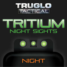 TRUGLO Brite-Site Tritium Handgun / Pistol Night Sights  Green S&W M&P Set