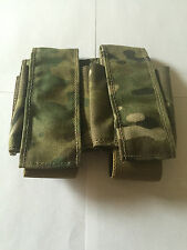 Eagle Industries MOLLE Double 40mm Grenade Pouch Multicam RLCS 500 Cordura AOR