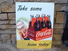 Coca Cola Coke Dealers Display Advertising Vintage Style Retro Tin Sign New