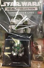 STAR WARS Helmet Collection Issue 27 COMMANDER GREE Clone Leader DeAgostini PW