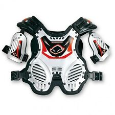 UFO Junior Shockwave Protector Youth Body Amrour Motocross Kids Roost Tabard Whi