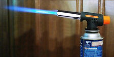 Portable Gas Torch Butane Burner Lighter Flamethrower BBQ Camping Soldering Tool