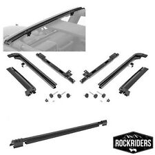 2007-2016 Jeep Wrangler Unlimited Frameless Soft Top Metal Hardware Kit Only