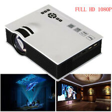 2000lumens 1080P HD LED Mini Casa Multimedia proyector HDMI USB Vídeo 1920 1080
