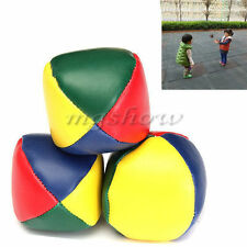 3 Juggling Balls Set Classic Bean Bag Juggle Magic Circus Beginner Kids Toy Gift