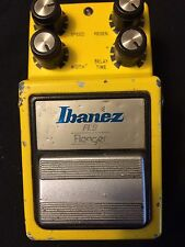 Vintage 1980's Ibanez FL-9 Yellow Flanger Pedal  Free Shipping Maxon
