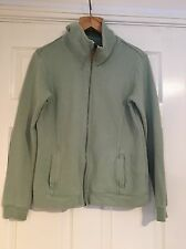 Fat Face Green Zip Up Jacket Sweater Woman's Size 12