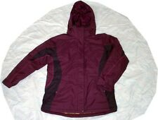 New Columbia Womens Winter Snow Pavilion Drift Ski Jacket Coat Plum Medium M