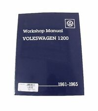 NEW Volkswagen Beetle Karmann Ghia 1200 Bentley Repair Workshop Manual VW8000165