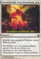 4x Vernichtende Zurechtweisung (Excoriate) Born of the Gods Magic