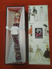 BARBIE FASHION MODEL 45TH ANNIVERSARY POUPÉE MATTEL B8955 MANNEQUIN COLLECTOR