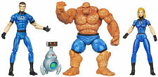 MARVEL UNIVERSE_Fantastic Four 4 Pack_INVISIBLE WOMAN_MR. FANTASTIC_HERBIE_THING