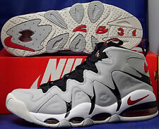 Nike Air Max CB34 Wolf Grey Red White Charles Barkley SZ 10 ( 414243-003 )