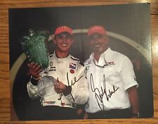 Bobby & Graham Rahal Indianapolis Signed 8 X 10 Photo Autographed Indy Car 500