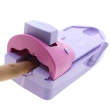 New Pink And Purple Nail Art Printer Stamping Printing Pattern Manicure Machine