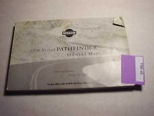 1998 Nissan Pathfinder Owners Manual Good Free Shipping 7705-43