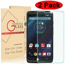 2-PACK Premium Tempered Glass  Screen Protector for Motorola Droid Turbo XT1254