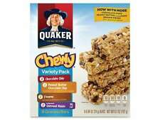 Quaker Oats Foods Chewy Granola Bar Variety Pack - Individually Wrapped - Assort