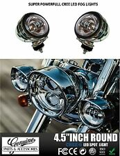 CREE LED Auxiliary Daymaker Fog Light For All HARLEY DAVIDSON SET OF 2 (silver)