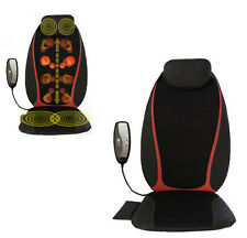 New Electric Chair-type Body 3D Shiatsu Massage Vibrating Massager Heat Home Car