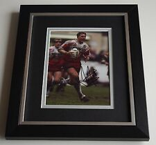 Denis Betts SIGNED 10X8 FRAMED Photo Autograph Display Wigan Rugby AFTAL & COA