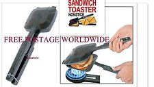 Non Stick Steel- Gas/Stove Hob Bread Roasted Sandwich/Toaster/Grill Snacks Maker