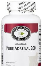 PURE ADRENAL 200 BEST NEW ZEALAND GLANDULAR ADRENAL FATIGUE SUPPLEMENTS SUPPORT