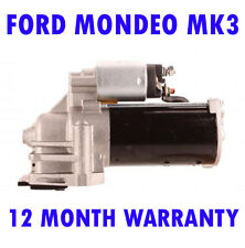FORD MONDEO MK3 2.0 16V 2000-2007 FULLY REMANUFACTURED STARTER MOTOR