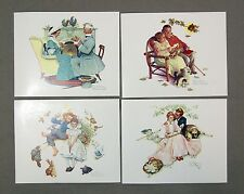 Vintage Norman Rockwell Four Seasons Series FOUR AGES OF LOVE Print Set 1