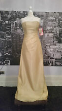 Kelsey Rose Sequinned Dress (Gold) Prom, Ball, Bridesmaid, Cocktail , RRP £200+
