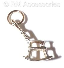 Rocking Chair Charm / small Pendant EP 24k Gold Plated with a Lifetime Guarantee