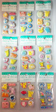 Pokemon Stickers 3D puffy Stickers Licensed By Nintendo 9 sheets
