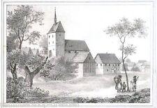 EULA Lithographie aus Sachsens Kirchengalerie ( Kirchengallerie ) um 1840