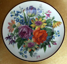 Collectors plate Flowers Roses tulips etc