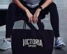 NWT VICTORIA'S SECRET SPORT BLACK TOTE GYM BAG