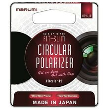 Marumi 58mm Fit Plus Slim Circular Polarizer Filter, London