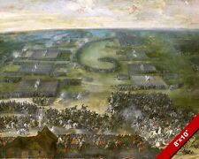 BATTLE OF WIMPFEN PAINTING CATHOLIC PROTESTANT 30 YEARS WAR ART CANVAS PRINT
